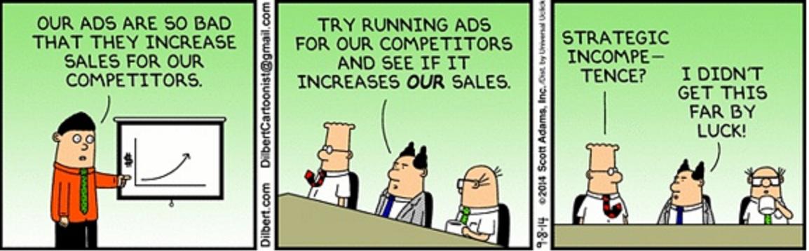 incompetentes a la competencia